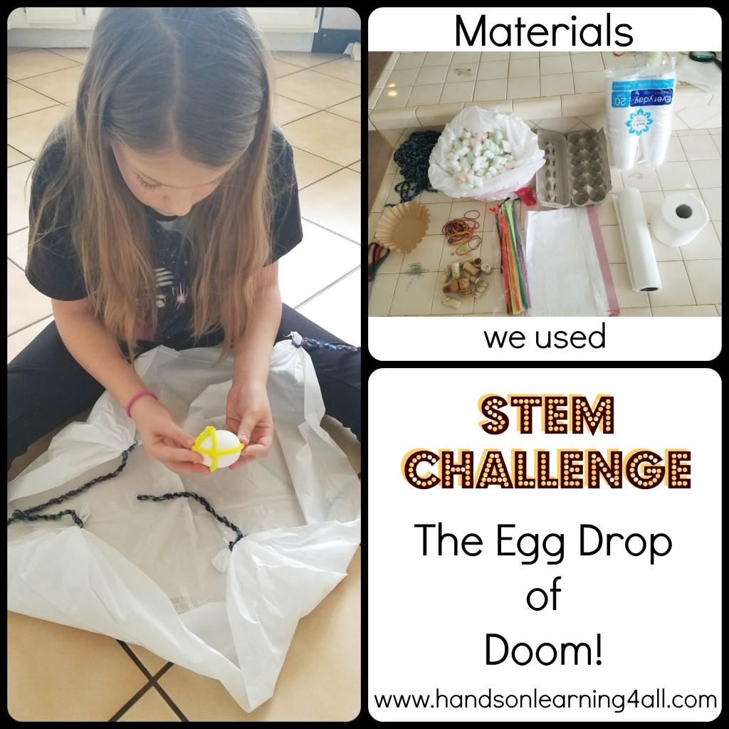 Egg drop of doom