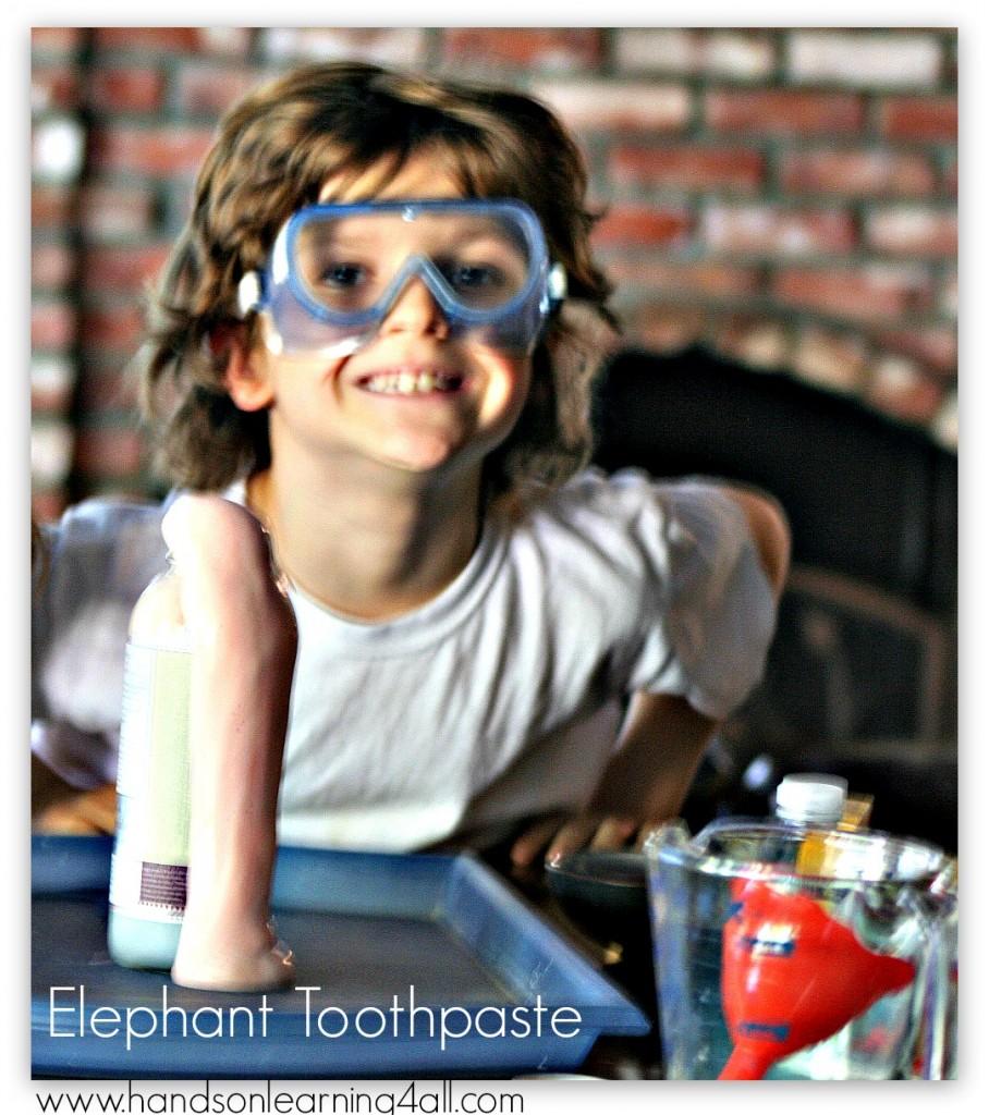Elephant Toothpaste