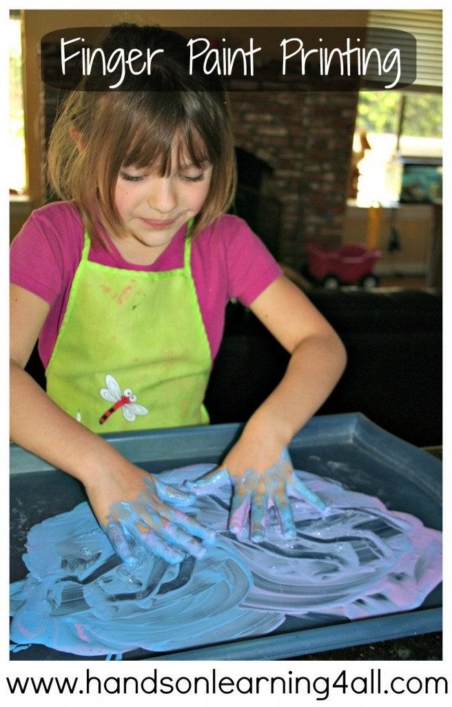 Finger Paint Printing