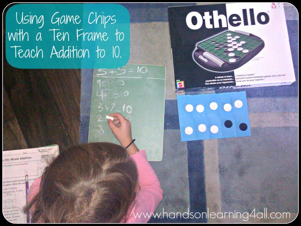 Game Chips Ten Frame