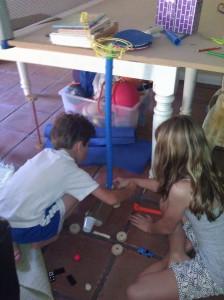 Building a Rube Goldberg Machine